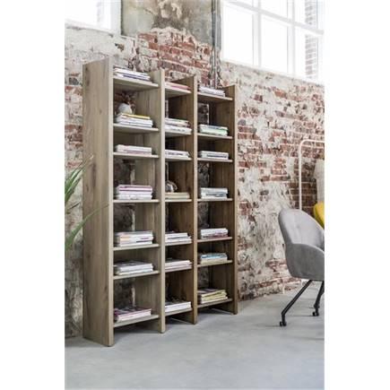 Henders en hazel masters bergkast boekenkast 80 cm lubbers wonen slapen - Eigentijdse boekenkast ...