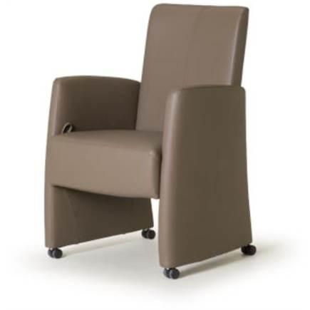 eetkamer fauteuil rhodos eetkamerfauteuil met rugverstelling lubbers ...