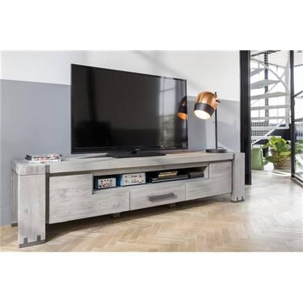 henders en hazel avola tv meubel 2 kleppen 1 lade 1 niche 190 cm lubbers wonen slapen. Black Bedroom Furniture Sets. Home Design Ideas