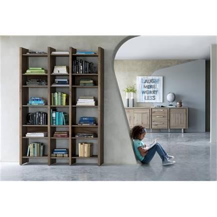 Henders en hazel masters boekenkast 80 cm lubbers wonen slapen - Eigentijdse boekenkast ...