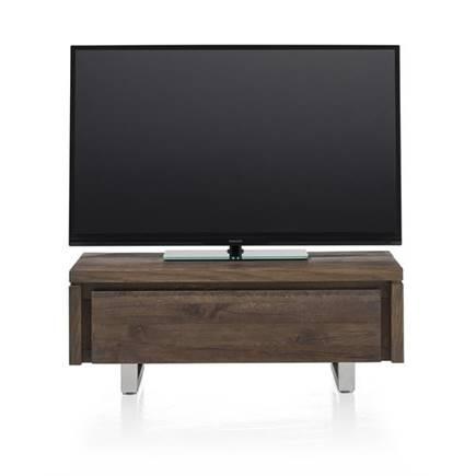 henders en hazel more tv meubel 1 klep 100 cm rvs. Black Bedroom Furniture Sets. Home Design Ideas