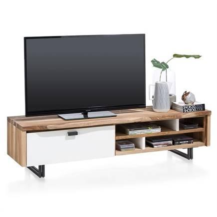 xooon vista tv meubel 1 klep 4 niches 170 cm lubbers wonen slapen. Black Bedroom Furniture Sets. Home Design Ideas