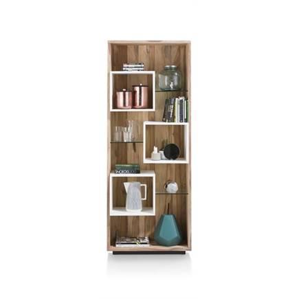 XOOON VISTA bergkast - boekenkast 7-niches - 75 cm - Lubbers Wonen ...