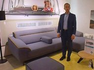 XOOON Italo bank met chaise longue